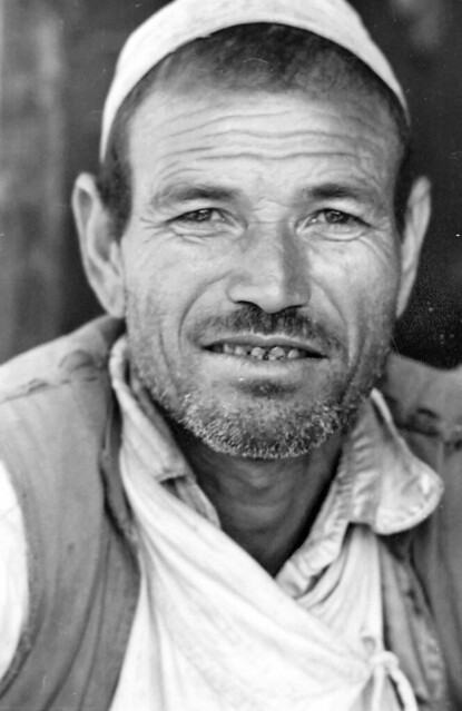 Portrait Kami Damai, Mauja Village, Kaski District, Nepal circa 1973-74