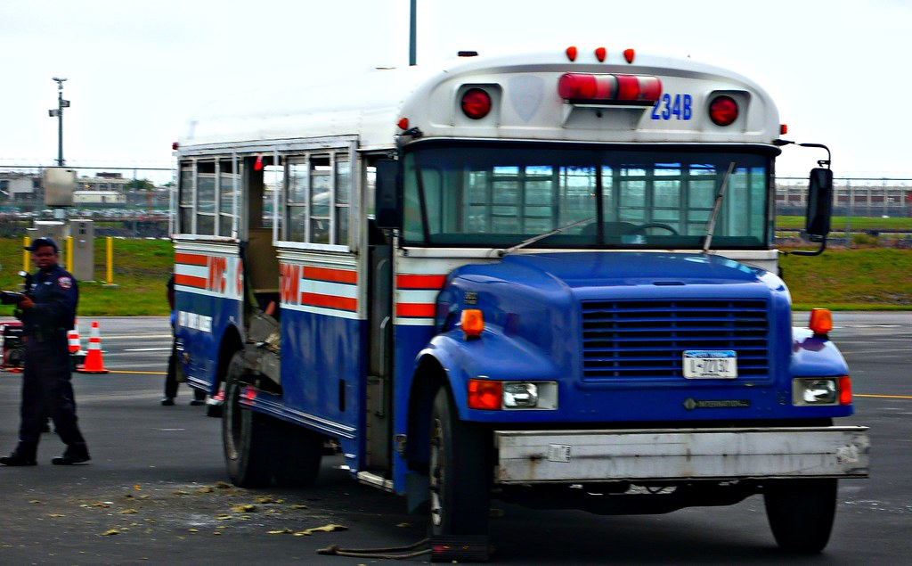 Correction Department Bus