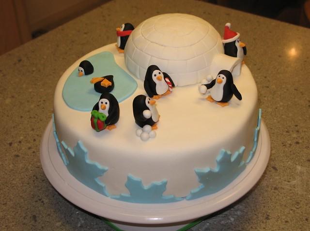 Igloo Cake Decoration