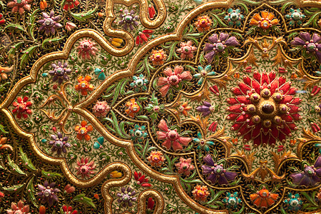 Detail Zari Embroidery  Flickr  Photo Sharing