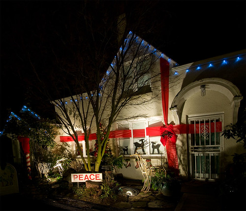 Candy Cane Lane in Seattle Washington