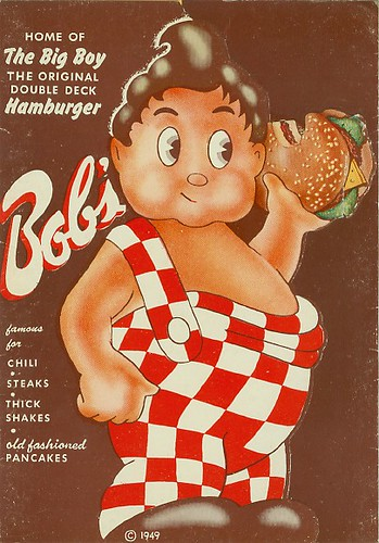 Bob's Big Boy menu 1