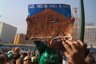 There have been many demonstrations in Egypt and the Occupied Territories in Palestine demanding an end to the siege of Gaza by Israel and the United States. This period marks the one year anniversary of the siege by the IDF. by Pan-African News Wire File Photos