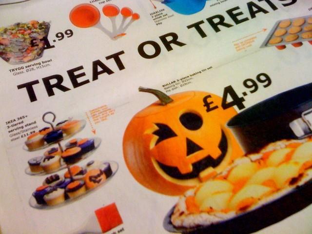 Ikea Halloween Press Ad   Flickr - Photo Sharing!