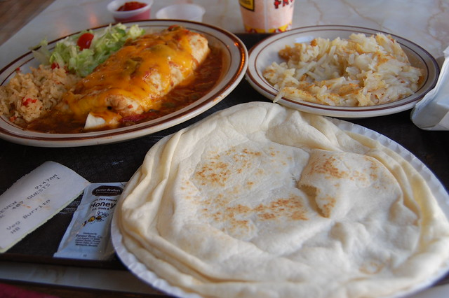 Breakfast at Frontier Restaurant, Albuquerque