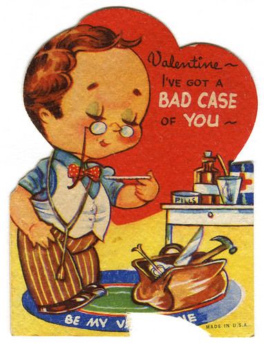 vintage valentine doctor