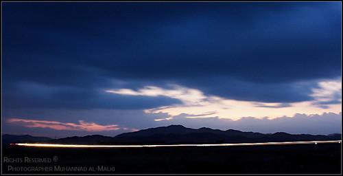 blue light sunrise dawn