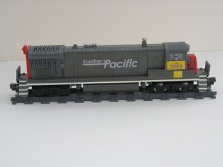 ex southern pacific B30-7 right
