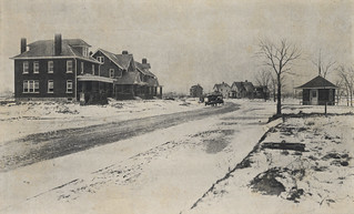 Corner of First and Virginia Avenues in the Northwest Boulevard Area, 1918