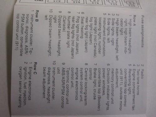 1997 Vs 1999 Fuse Assignments  Diagrams
