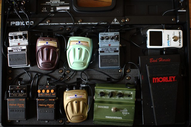 Photo:the pedalboard By thraxil