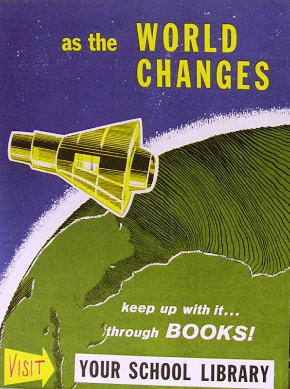 RETRO POSTER - As the World Changes