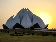 Lotus Temple - The Bahá'í House of Worship in Delhi