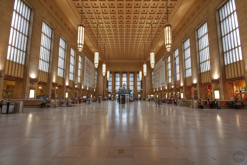 The Grand 30th Street Station Main Waiting Area 30th Stre Flickr Photo Sharing
