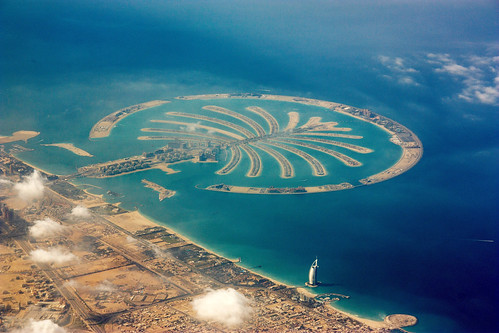 The Palm Islands,Dubai,UAE by B737NG