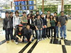 Group Photo at Changi Airport T3
