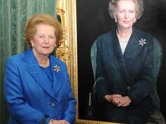 Baroness Thatcher portrait
