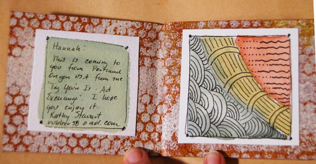 A Little book of Fall Zentangles (Photo Copyright Hanna Andersson)