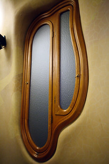 Interior window, Casa Batlló
