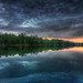 Sunset over Mulica River by Acoustic Walden