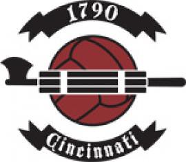 1790 CINCINNATI Professional Arena Soccer League logo (2008)
