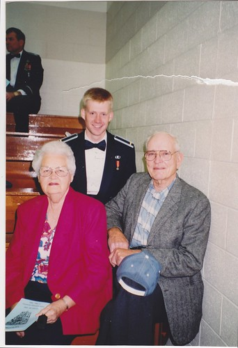 1992 - USAFA Graduation with Alice and Fred