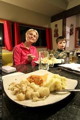 rachel made us valentine's dinner   salmon, mashed p…