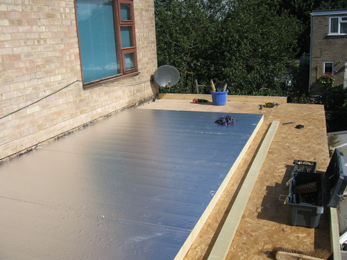 decking boards plus insulation