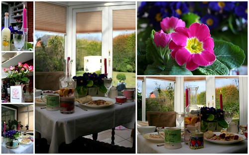 Mothers day conservatory breakfast