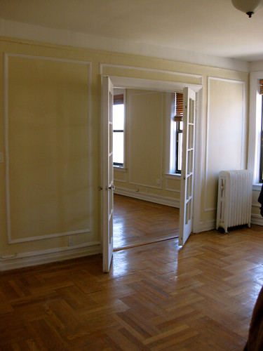 White trim wood floors and french doors meg fee for Hardwood floors with white trim