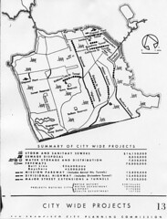 City Wide Projects, San Francisco City Planning Commission (1944)