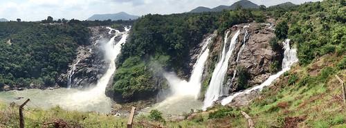 green fall waterfall bangalore sunny karnataka mysore panorma waterbody shivasamudramfalls originalfilter uploaded:by=flickrmobile flickriosapp:filter=original shvanasamudra