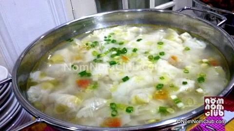 Molo Soup for a hot start