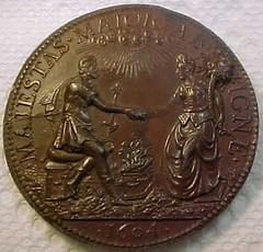 1604 HENRY IIII MEDAL - REVERSE