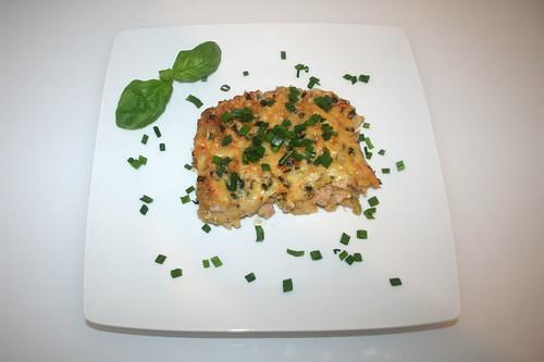 36 - Wirsing-Schupfnudel-Gratin - Serviert / Savoy potatoe noodle gratin - Served