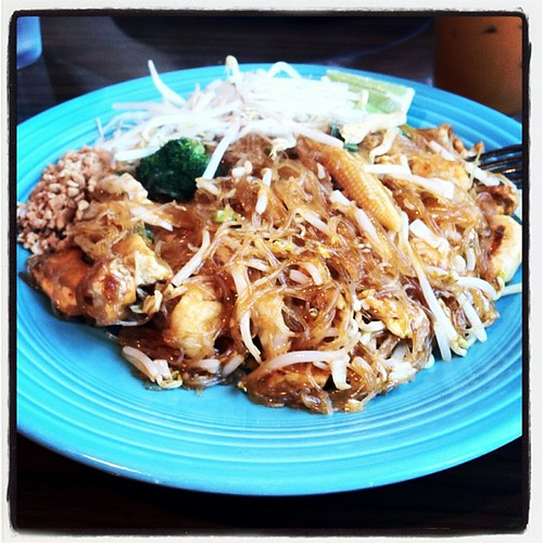 Pad Thai Woon Sen at Cha Ba Thai #pdx #omnomnom