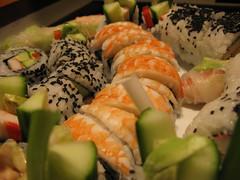 meal, california roll, sushi, food, dish, cuisine,