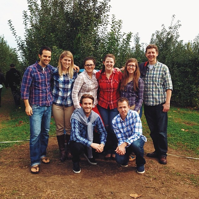 Plaid Brigade! Some were more willing participants than others (side eye Bremen...)Regram from @jordanlangdon.