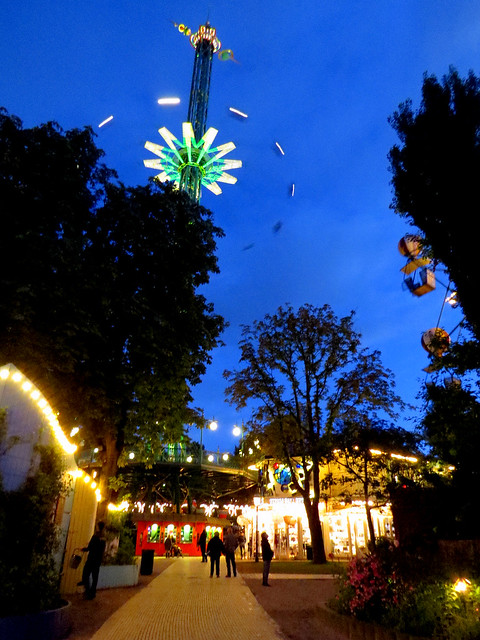 Tivoli Gardens - The Star Flyer