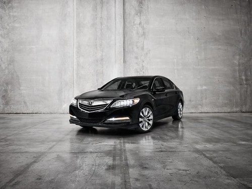 Гибрид Acura RLX Sport Hybrid SH-AWD готов к автосалону в Лос-Анджелесе