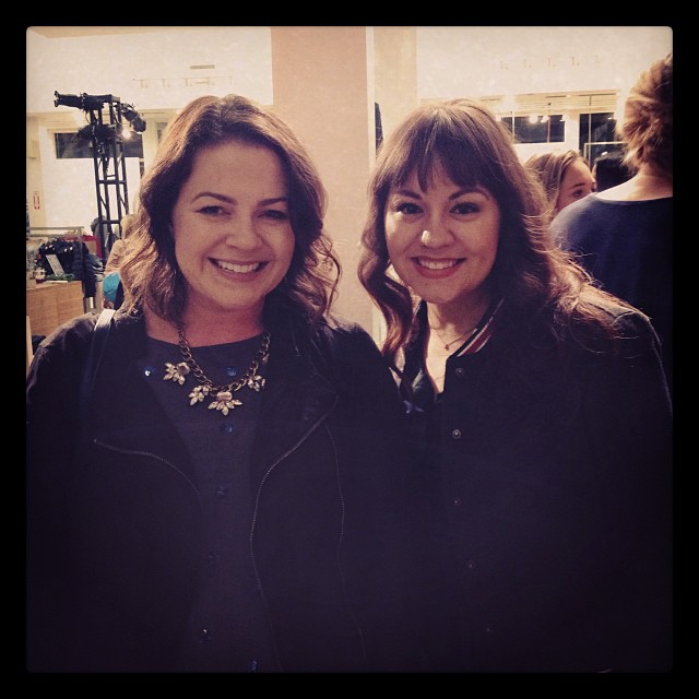 Hanging with @savvyinsanfran at @gap and @ruemagazine's holiday party! #styldbyrueholiday #sfbloggers #sf #latergram