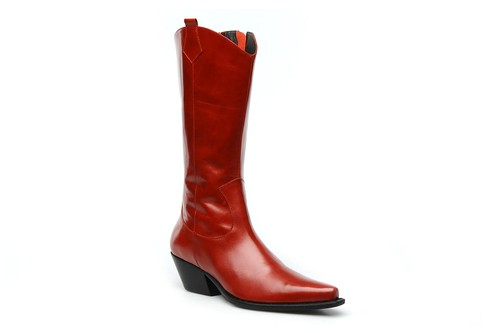 Georgia Rose Moletina red cowboy boots