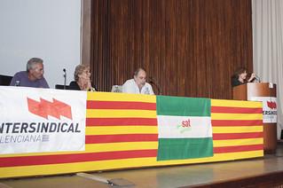 PACD València en el acte de suport al SAT