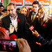 Tom Mulcair and Linda McQuaig 2013