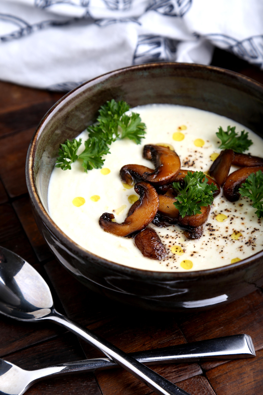 Cauliflower and Cashew Cream Soup