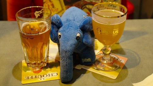 Elephpant liking more beer