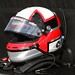 The helmet of Juan Pablo Montoya during his first Team Penske test in Sebring