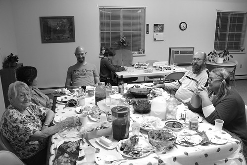 Eating with my great-grandma