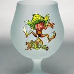 ベルギービール大好き!!【キュベ・デス・トロールスの専用グラス】(管理人所有 )