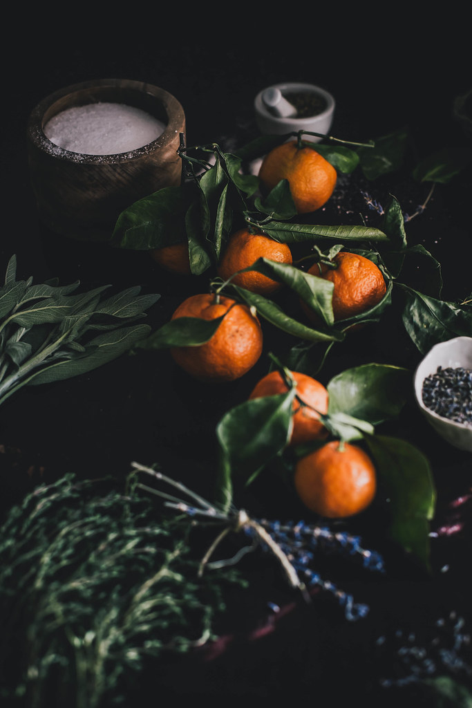 DIY Gifts: Satsuma Herb de Provence Salt + Saffron Lavender Honey // Kinfolk Herbal Infusion Workshop TN